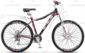 Велосипед Stels Miss-7300 MD Черный/Розовый/Белый (2016)