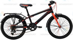 Велосипед Merida Dino J20 6spd Matt Black/Red (2016)