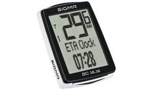 Велокомпьютер Sigma ВС 16.16 Topline 16 функций