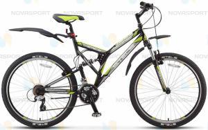 Велосипед Stels Challenger V 26 (2015)Черный/Серый/Зеленый