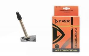 """Велокамера 26"""" Trix (бутил) 26х1,95-2,125 F/V-48 двойной обод"""
