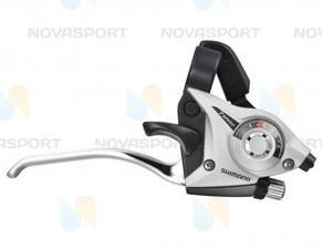 Шифтер/тормозная ручка Shimano Tourney ST-EF51 прав 7ск серебро тр.+оплетк ESTEF51R7AS2P