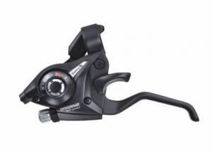 Шифтер/тормозная ручка Shimano Tourney EF510 прав 8ск черный ESTEF5102RV8AL