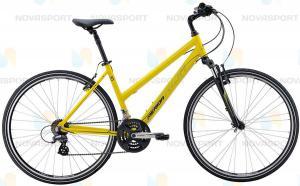 Велосипед Merida Crossway 10-V Lady (2016) Matt Yellow/Black