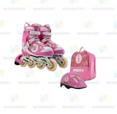 Набор роликовой защиты CK LITTLE RABBIT розовый