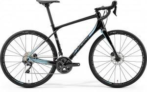 Велосипед Merida SILEX 700 Matt Metallic Black (Lite Blue) 2019