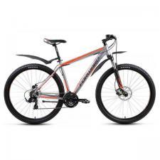 "Велосипед 29"" Forward Next 2.0 Disc Серый Матовый 21 ск 17-18 г"