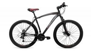 """Велосипед 29"""" Forward Katana Черный/Оранжевый 21 ск 17-18 г"""