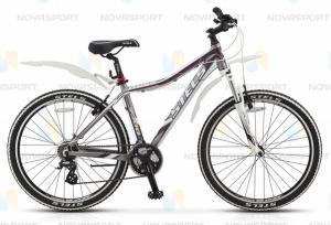 Велосипед Stels Miss 7300 (2014) Серебро-матовый