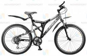 Велосипед Stels Adrenalin (2014) Серый/Черный
