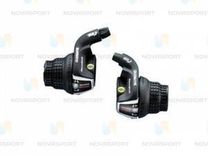 Шифтер Shimano Tourney SL-RS 35 лев/пр 3x6ск тр.+оплетк ESLRS35P6A