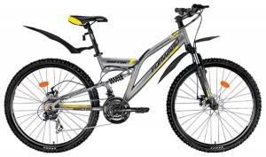 Велосипед Forward Raptor 2.0 Disc 26 (2016) Серый Матовый