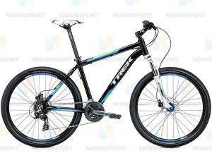 Велосипед Trek (2015) 3700 Disc Trek Black/Volt Green/Nysa Blu
