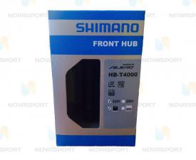 Втулка передняя Shimano Alivio Т400 32 отв. QR черный EHBT4000BL
