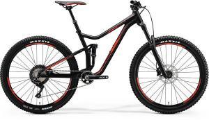 Велосипед Merida One-Forty 700 Matt Black (Shiny Red) 2018