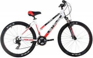Велосипед Stels Miss-6000 V V010 Белый/Черный/Красный