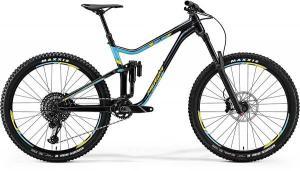Велосипед Merida One-Sixty 800 Dark Blue (Blue/Yellow) 2018
