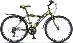 Велосипед Stels Navigator 530 V 26 (2016) Серый/Черный/Салатовый