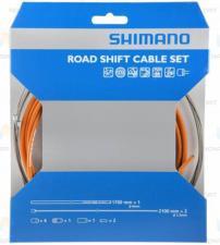 Трос+оплетка перекл Shimano SP41 оранж Y60098017