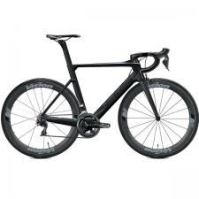 Велосипед Merida REACTO 8000-E Matt UD (Shiny Black/Chrome) 2018