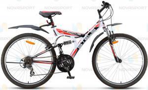 Велосипед Stels Focus V 21 sp 26 (2016) Белый/Черный/Красный