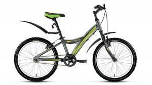 Велосипед Forward Comanche 1.0 20 (2017) Серый Матовый