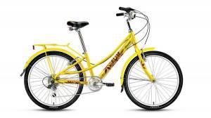 Велосипед Forward Azure 24 (2017) Желтый