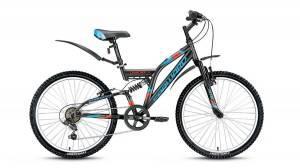 Велосипед Forward Cruncher 1.0 24 (2017) Серый Матовый