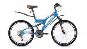 Велосипед Forward Cruncher 2.0 24 (2017) Синий Матовый
