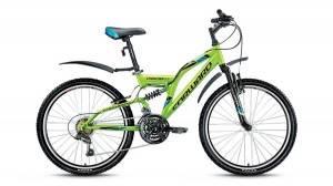 Велосипед Forward Cruncher 2.0 24 (2017) Зеленый