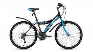 Велосипед Forward Dakota 1.0 24 (2017) Черный