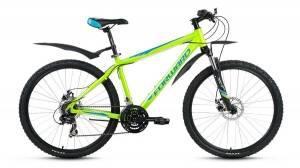 Велосипед Forward Apache Disc 2.0 26 (2017) Зеленый