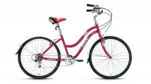 Велосипед Forward Evia 1.0 26 (2017) Бордовый
