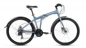 Велосипед Forward Tracer 2.0 Disc 26 (2017) Серый Матовый