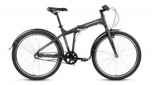Велосипед Forward Tracer 3.0 26 (2017) Серый Матовый
