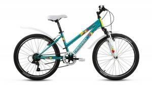 Велосипед Forward Iris 1.0 24 (2017) Зеленый