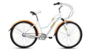Велосипед Forward Evia Air 2.0 26 (2017) Белый Матовый