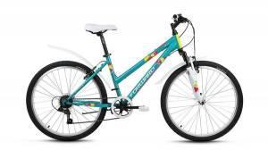 Велосипед Forward Iris 1.0 26 (2017) Зеленый Матовый