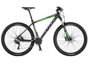 Велосипед Scott Aspect 710 Black/Grey/Green (2017)