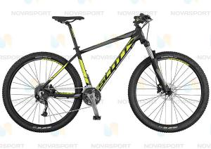 Велосипед Scott Aspect 740 Black/Yellow/Grey (2017)