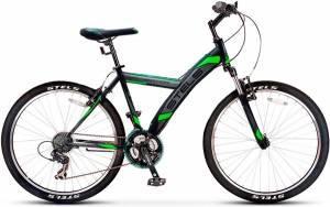 Велосипед Stels Navigator 550 V V030 Черный/Зеленый