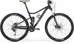 Велосипед Merida One-Twenty 7.500 Matt Black (Green) 2018