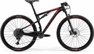 Велосипед Merida Ninety-Six 9.800 MattBlack (Shiny Red) 2018