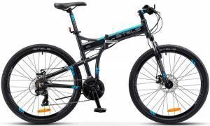 "Велосипед Stels 26"" Pilot 970 MD Серый/Синий"