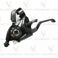 Шифтер/тормозная ручка Shimano Tourney ST-EF51 лев 3ск черный тр.+оплетк ESTEF51LSBL2P