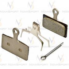 Тормозные колодки Shimano д/диск тормоза  G01S с пружин с шплинтом Y8KA98010