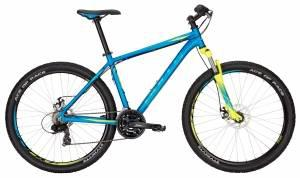 Велосипед Bulls Wildtail Disc (2017) blue matt (cyan/neon yellow)