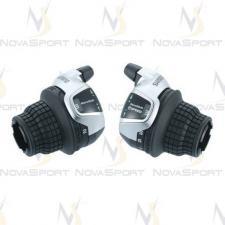 Шифтер Shimano Tourney SL-RS 45 лев/пр 3x8ск тр.+оплетк ESLRS45P8A