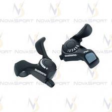Шифтер Shimano Tourney SL-TX30 лев/пр 3(Frict)x6ск тр.+оплетк ESLTX30P6FAT