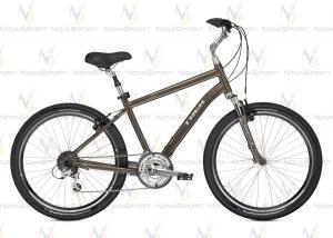 Велосипед Trek (2014) Shift 3 Metallic Bronze с крыльями